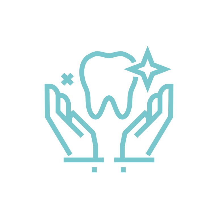 Emblanquiment dental icon